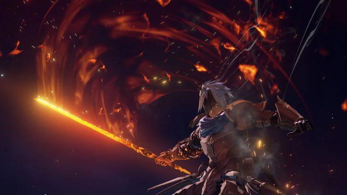 Tales of Arise: Die Dateigrößen der PS4- und der PS5-Version