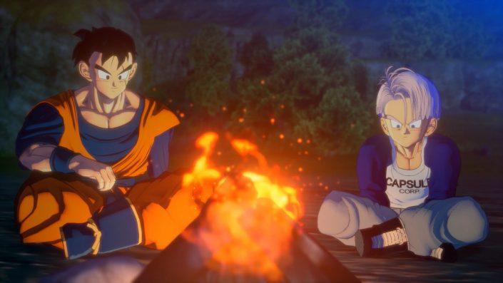Dragon Ball Z Kakarot: 9 weitere Screenshots aus dem kommenden Trunks-DLC