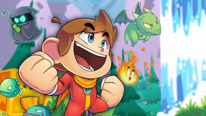 Alex Kidd in Miracle World DX