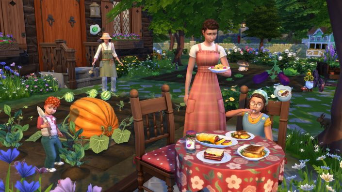Die Sims 4: Landhaus-Leben-Erweiterung erscheint im Juli