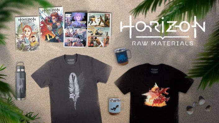 PlayStation Gear Store: Horizon-Merch eingetroffen – T-Shirts, Actionfiguren und mehr
