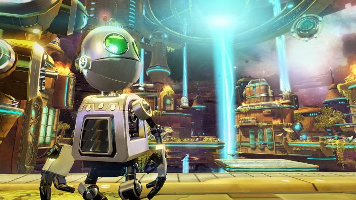 Ratchet & Clank A Crack in Time – Clank in der Großen Uhr