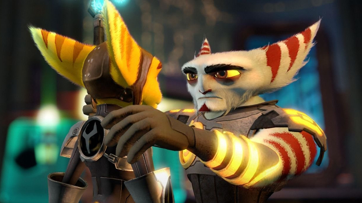 Ratchet & Clank A Crack in Time – Ratchet und Alister