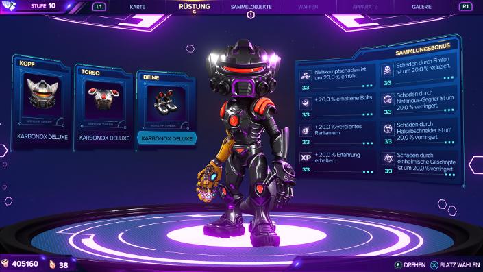 Ratchet & Clank Rift Apart – Karbonox Deluxe