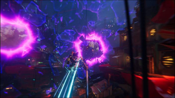Ratchet & Clank Rift Apart: Rift-Mechanik wäre auch auf PS3 realisierbar, meint Jon Burton