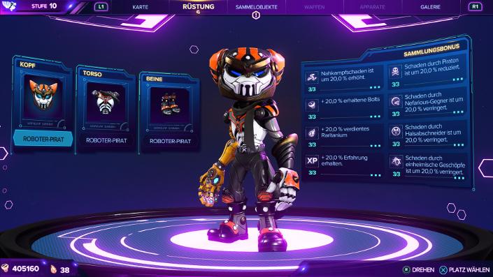 Ratchet & Clank Rift Apart – Roboter-Pirat