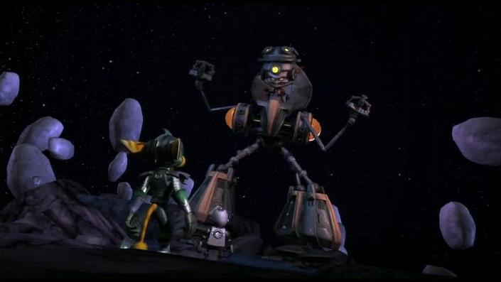 Ratchet & Clank vs Tachyon