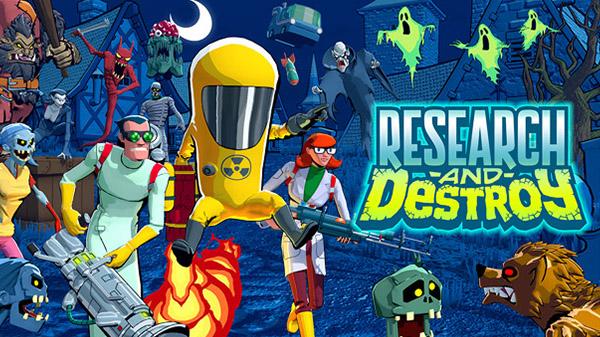 Research and Destroy: Rundenbasiertes Actionspiel lässt euch eine übernatürliche Horde bekämpfen – Ankündigungstrailer