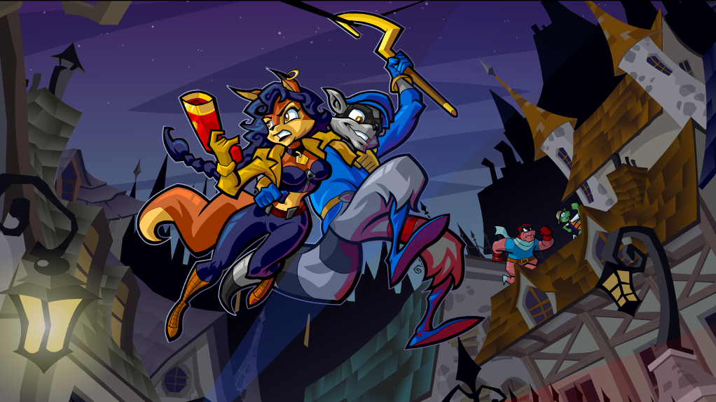 Sly Cooper 4 – Background 2