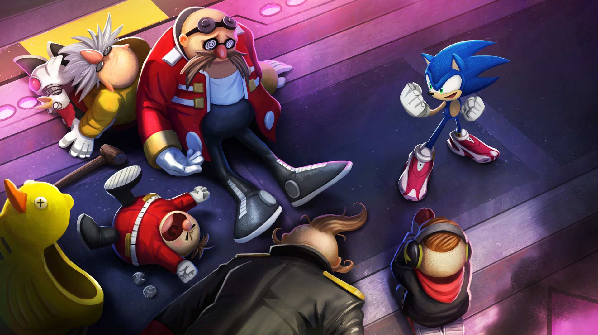 Sonic Prime Artwork 4
