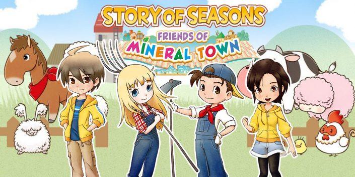 Story of Seasons – Friends of Mineral Town: Mit einem Trailer für die PS4 bestätigt