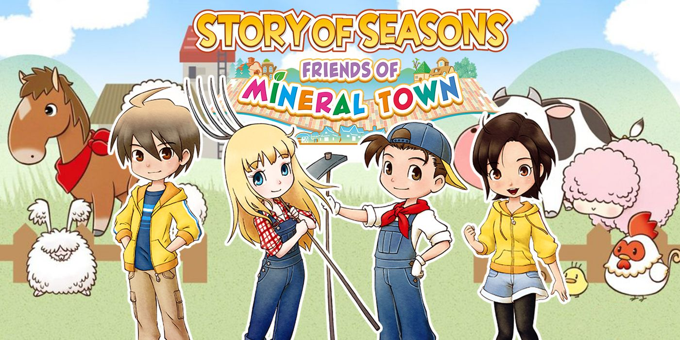 Story of Seasons Friends of Mineral Town Teaser