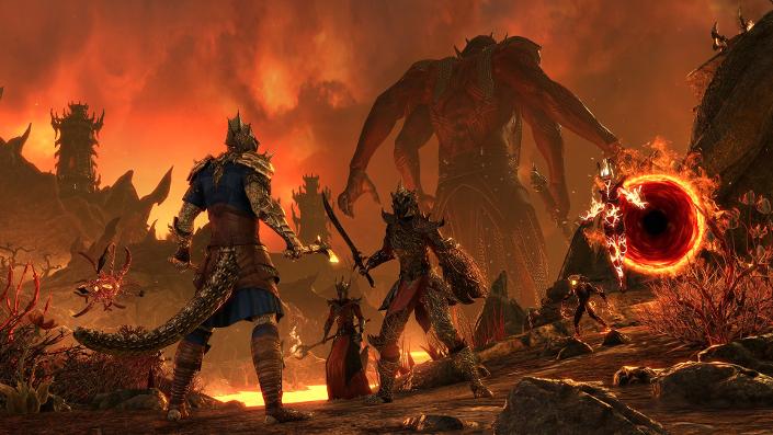 """The Elder Scrolls Online: Termin und Trailer zum """"Deadlands""""-DLC"""