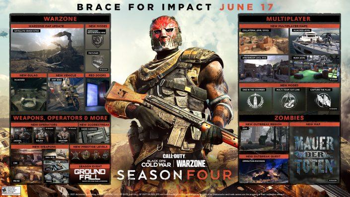 CoD Black Ops Cold War und Warzone: Update für Season 4 und Roadmap mit Inhalten
