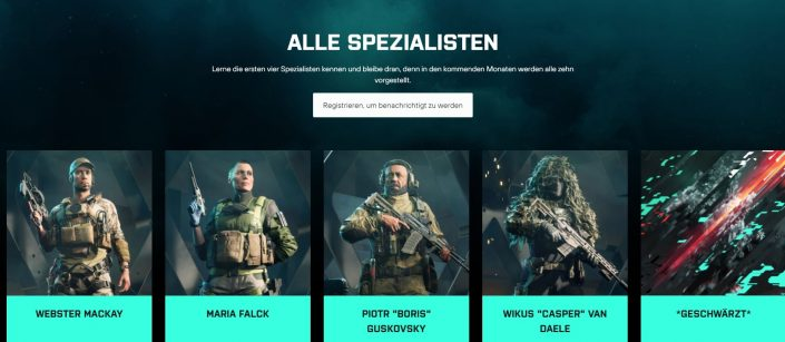 Battlefield 2042: Gameplay-Video zeigt die Fähigkeiten der ersten 4 Spezialisten