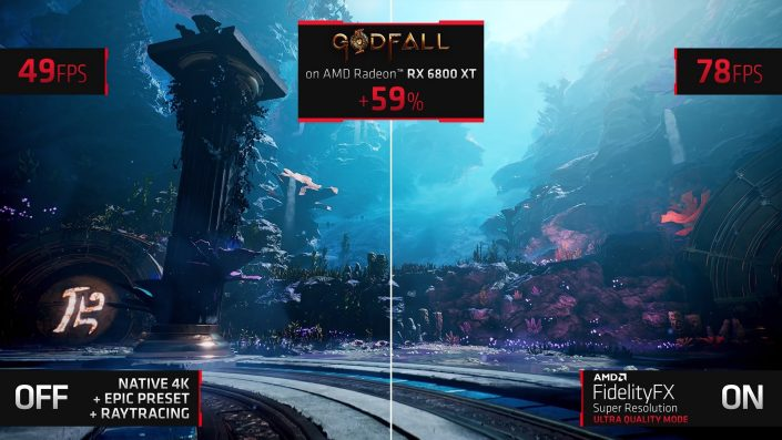 FidelityFX Super Resolution: Welchen Einfluss die neue Technologie auf PS5-Spiele haben könnte