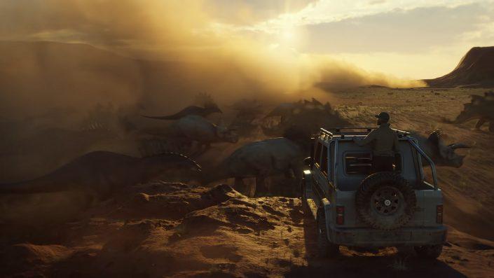 Jurassic World Evolution 2: Entwicklervideo zeigt Ingame-Aufnahmen aus der Beta