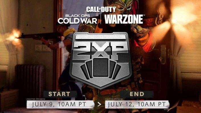 Black Ops Cold War & Warzone: Double-Battle-Pass-XP-Weekend und neue Playlists