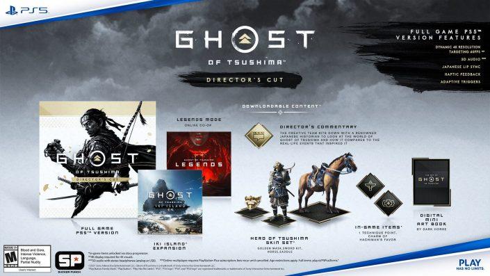 Ghost of Tsushima: Director's Cut für PS5/PS4 angekündigt – Termin, Trailer und Details