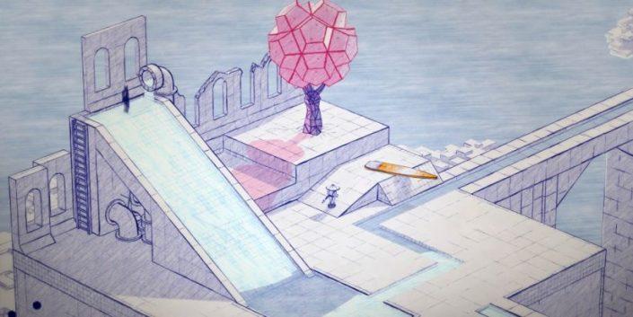 Inked A Tale of Love: Tinte auf Papier – Puzzler mit ungewöhnlichem Stil angekündigt