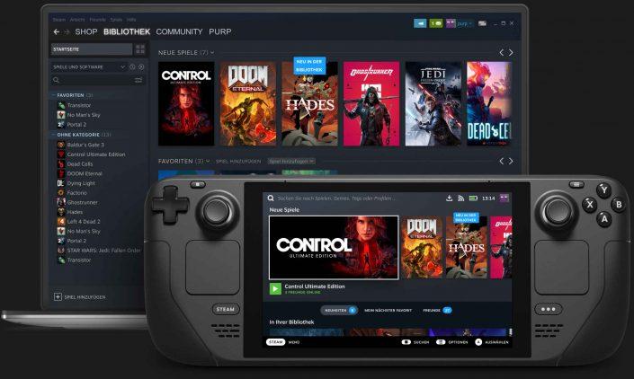 Steam Deck: Laut Gabe Newell keine direkte Konkurrenz zu Nintendos Switch