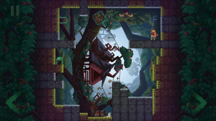 Tetragon: 2D-Puzzle-Spiel für PS4 angekündigt