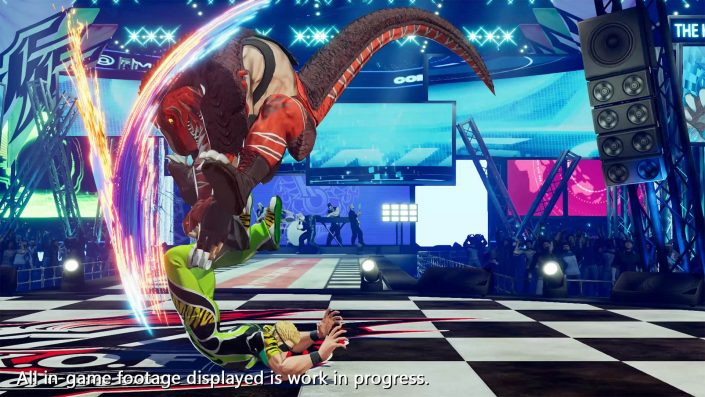 The King of Fighters XV: Neuer Charakter-Trailer zu King of Dinosaurs