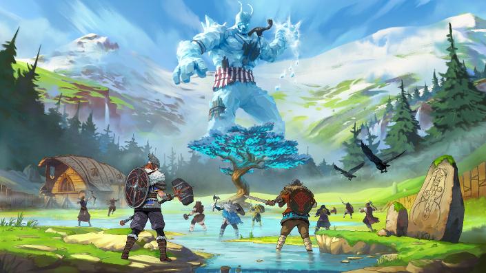 Tribes of Midgard: Macher stellt die Bossgegner des Spiels vor