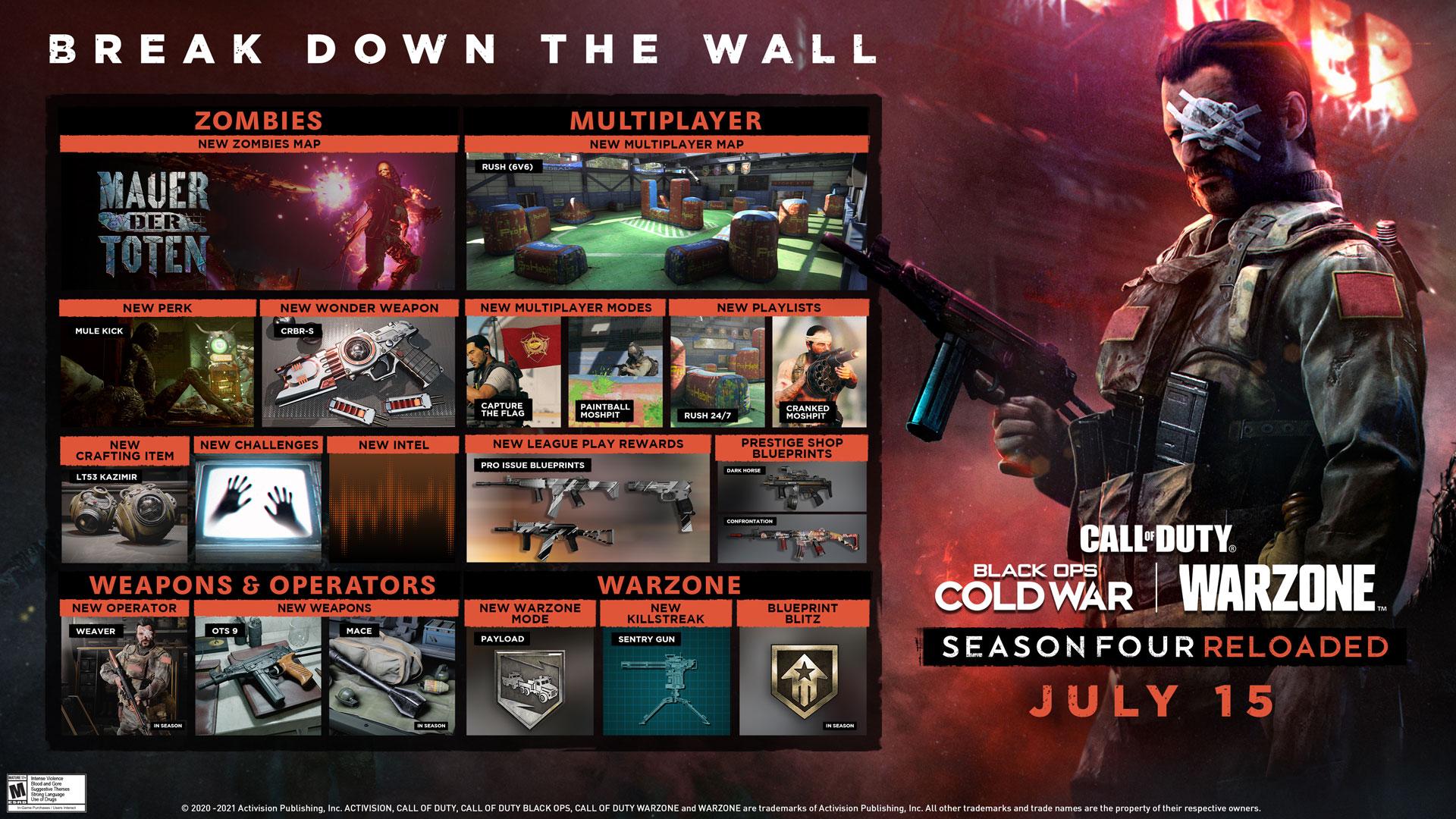 Warzone Black Ops Cold War Season 4 Reloaded