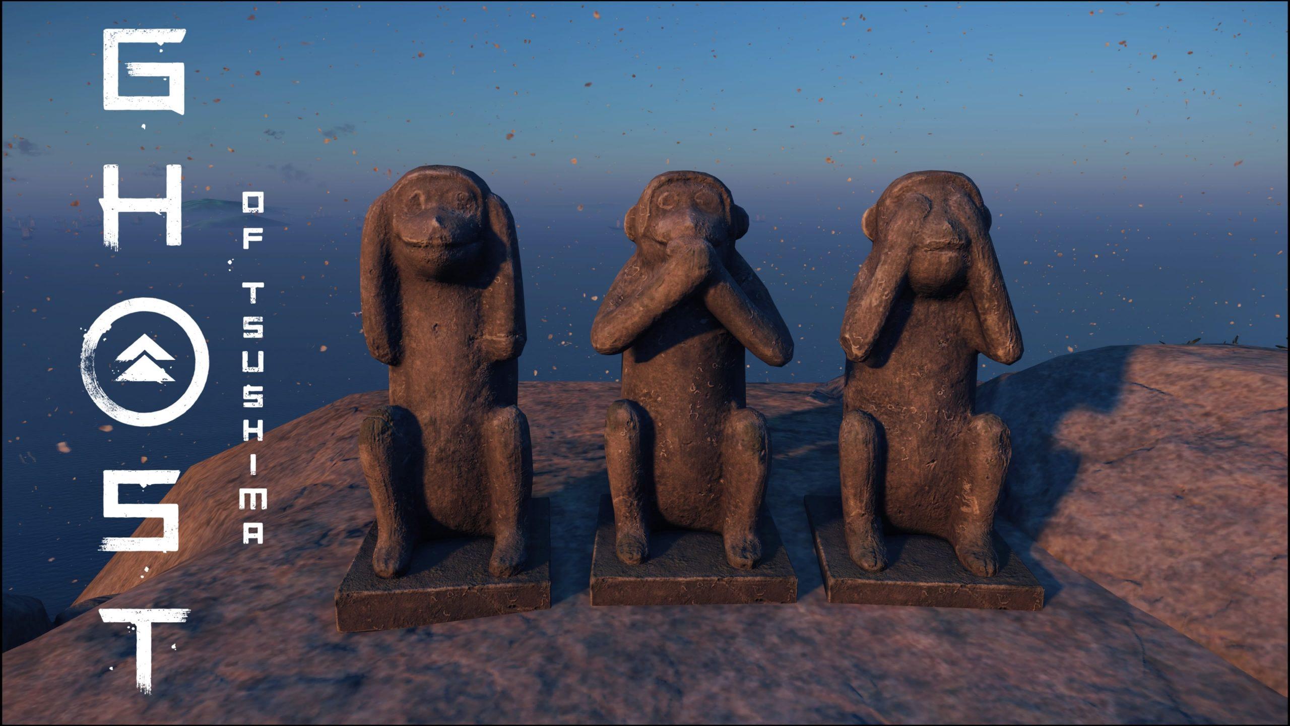 Ghost of Tsushima Geist des Affen – Die drei Affen