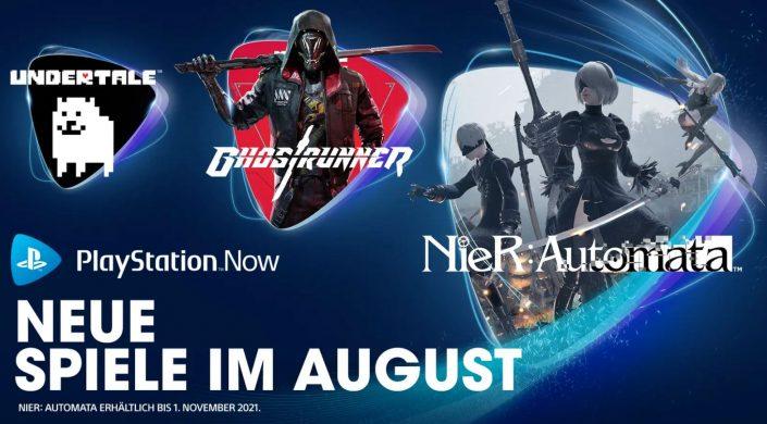 PlayStation Now: Spiele für August 2021 bestätigt