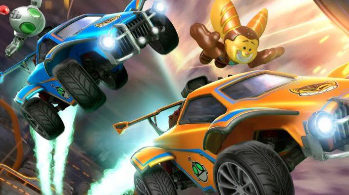 Rocket League: Ratchet & Clank-Pack und 120 FPS mit Season 4