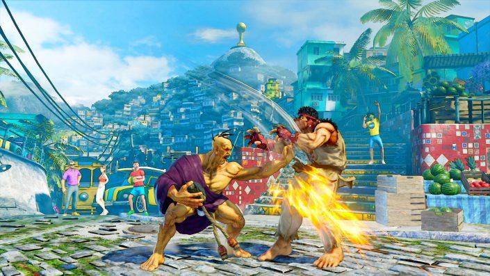 Street Fighter 5: Gameplay-Trailer zu Oro veröffentlicht
