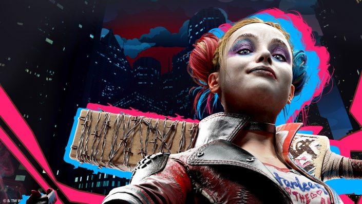 Suicide Squad – Kill The Justice League: Artwork und Screenshot zeigen die 4 Superschurken