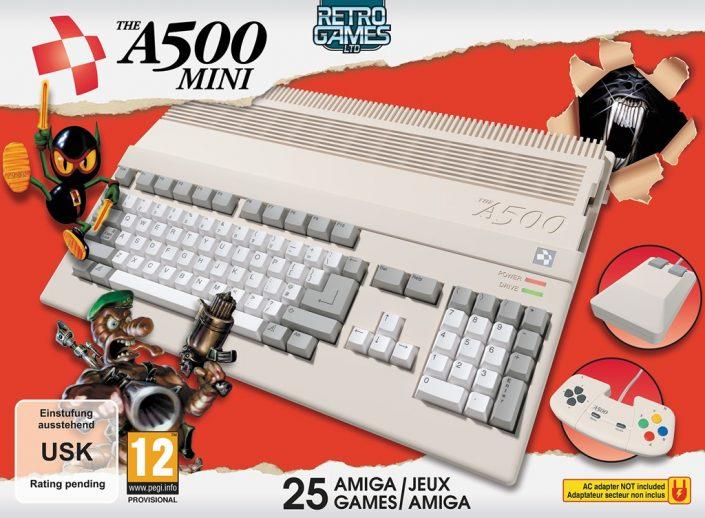TheA500 Mini: Retro-Hardware mit Worms, Another World und mehr – Vorbestellung möglich