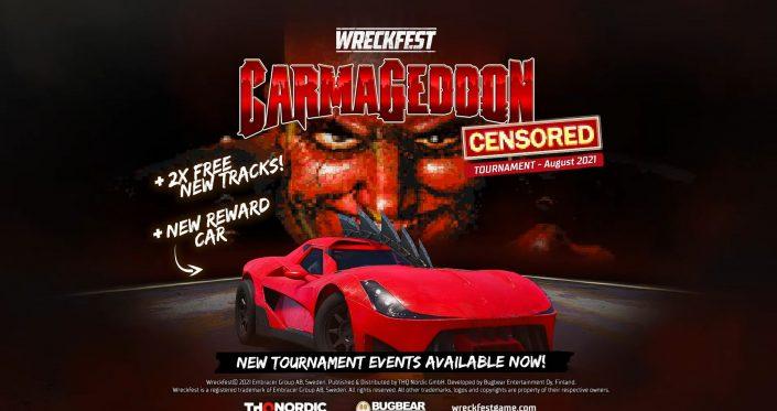 Wreckfest: Crossover mit Carmageddon führt neue Inhalte ein