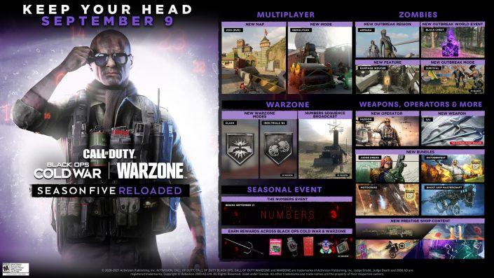 Black Ops Cold War & Warzone: Details zu den neuen Inhalten von Season 5 Reloaded