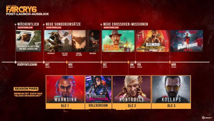 Far Cry 6: Post-Launch-Plan samt Season Pass vorgestellt