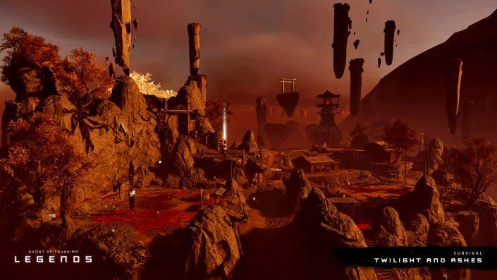 Ghost of Tsushima Legends: Zwei neue Karten für Mehrspieler-Online-Erfahrung