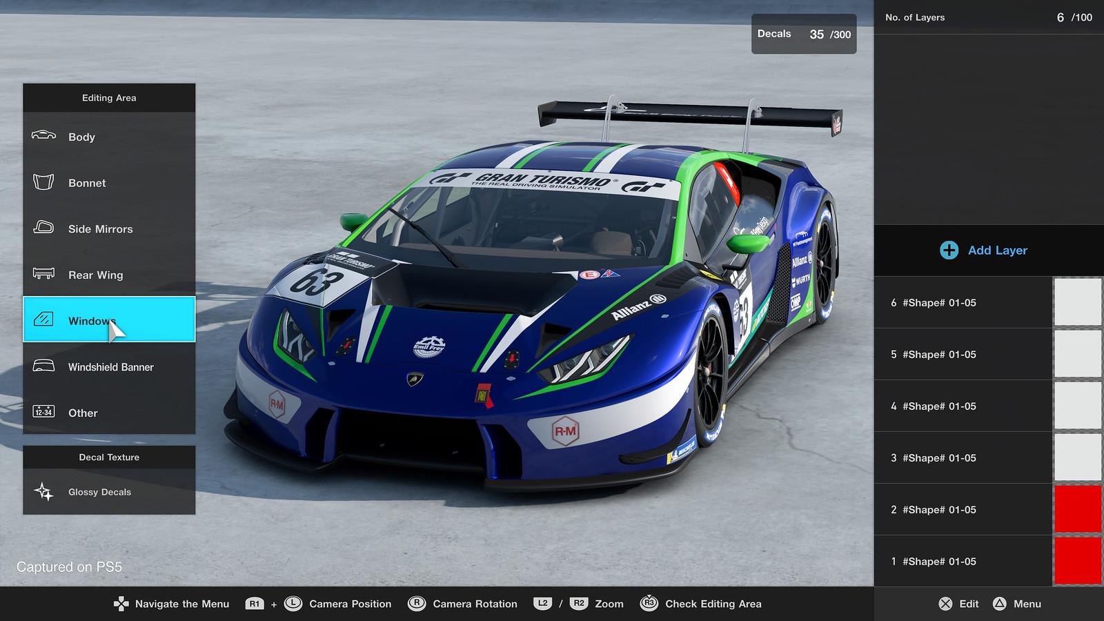 Gran Turismo 7 Anpassung (2)