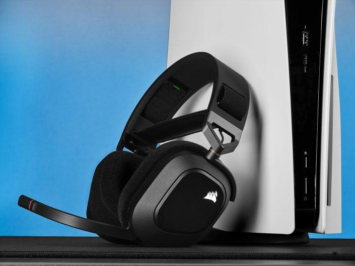 Corsair HS80 RGB Wireless im Test: Kabellose Kopfhörer der Extraklasse?