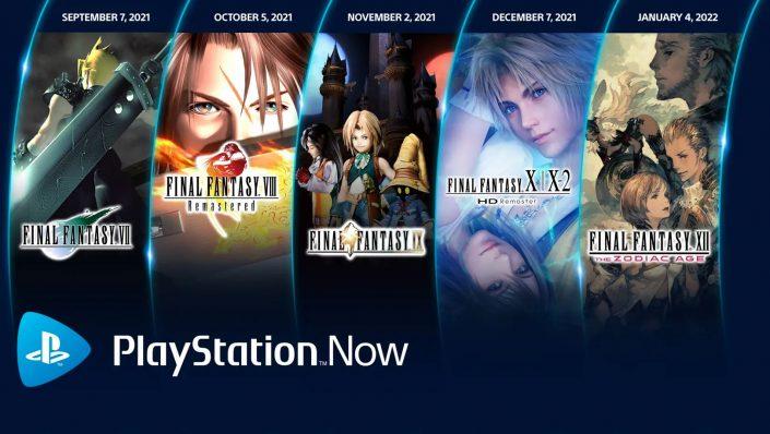 PlayStation Now: Final Fantasy VII und mehr – Die Spiele im September 2021