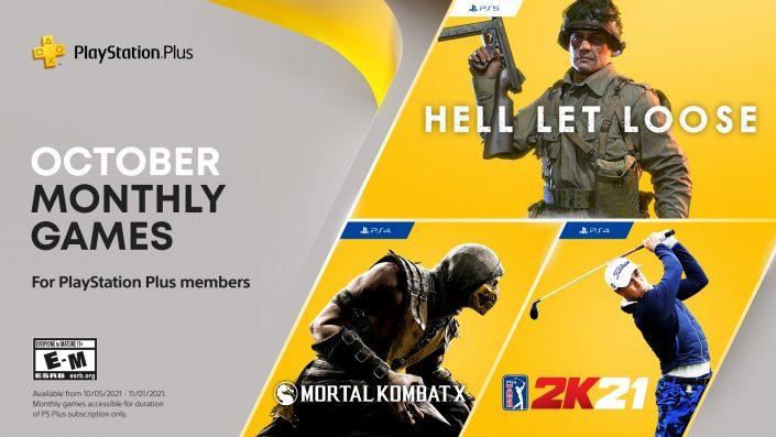 PS Plus Oktober 2021: Spiele ab sofort zum Download bereit