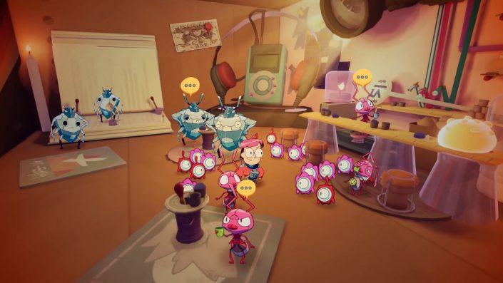 Tinykin: Puzzle-Adventure für Konsolen und PC angekündigt