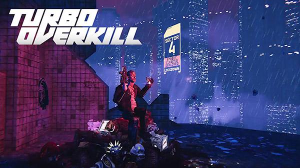 Turbo Overkill: Brutaler Cyberpunk-Shooter mit einem ersten Trailer angekündigt