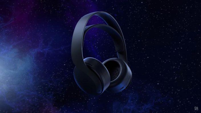 PS5: Pulse 3D Wireless Headset ab Oktober in Midnight Black erhältlich