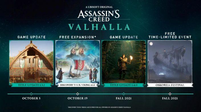 Assassin's Creed Valhalla: Herbst-Roadmap veröffentlicht
