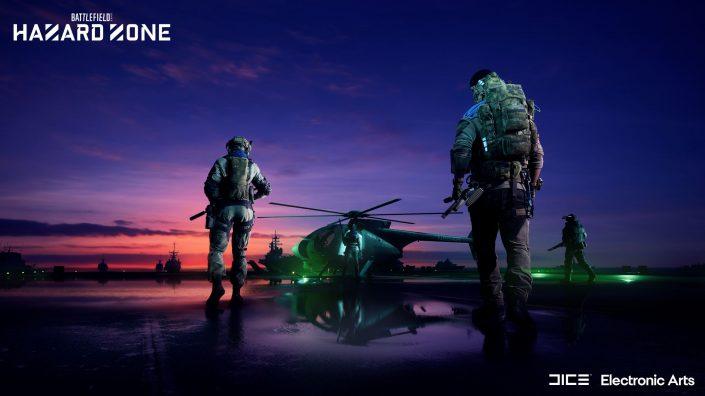 Battlefield 2042: EA präsentiert Hazard Zone – Trailer und alle Informationen
