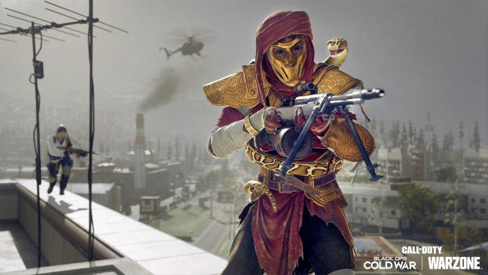 Call of Duty Warzone: 24 Gegenstände inkl. zwei Waffen aus Vanguard wurden dem Battle Pass hinzugefügt