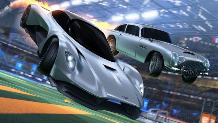 Rocket League: Zum Kinostart des 007-Streifens – Aston Martin Valhalla und mehr im neuen Update